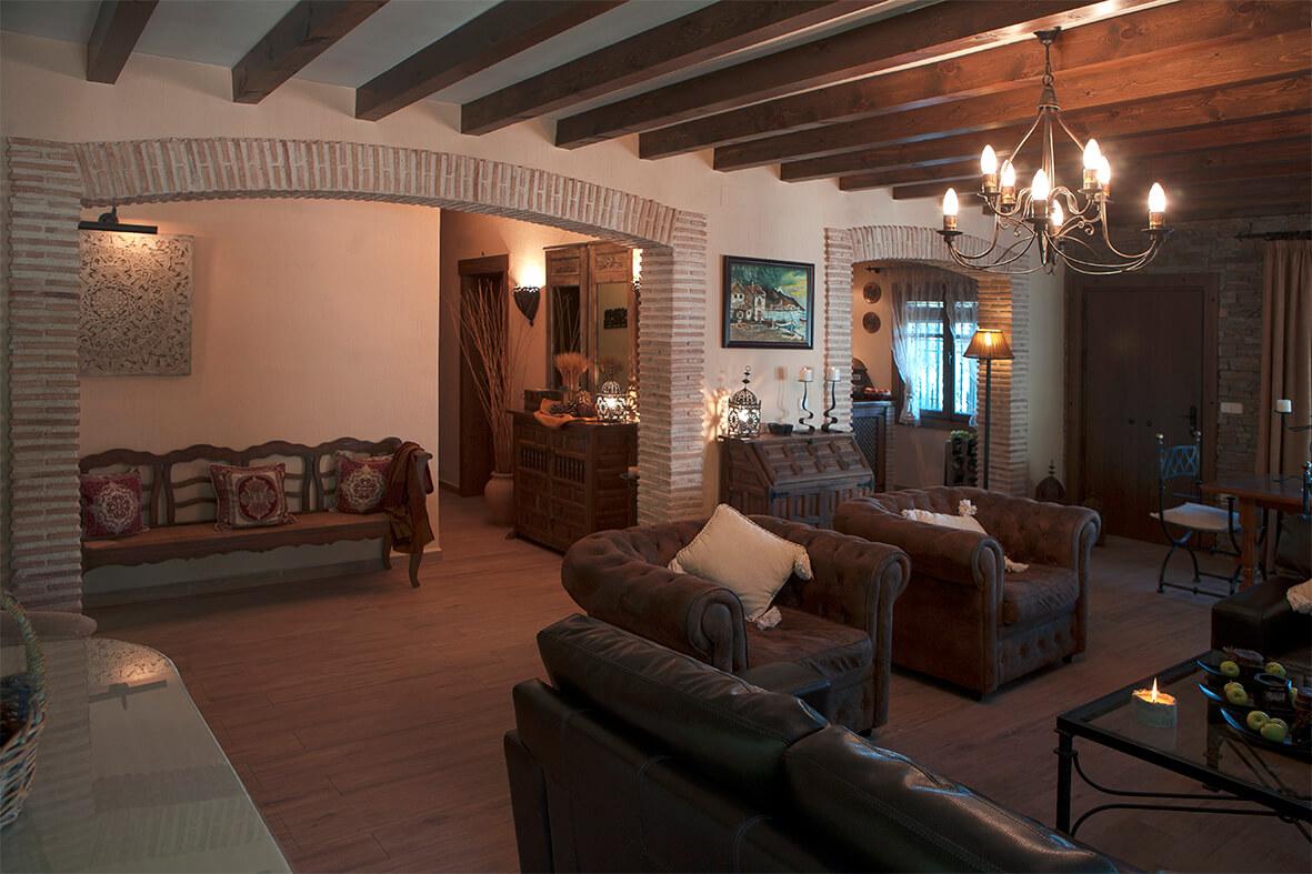 Salón Casa Rural La Noguera
