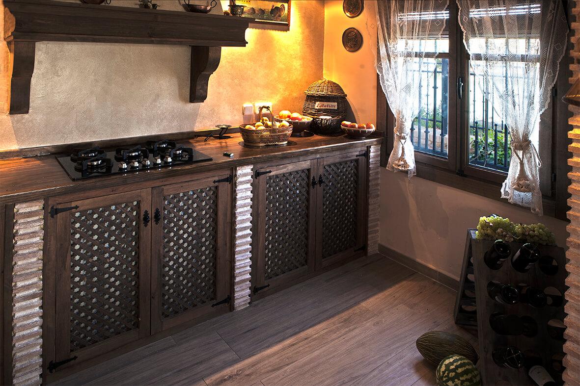 Cocina de la Casa Rural La Noguera