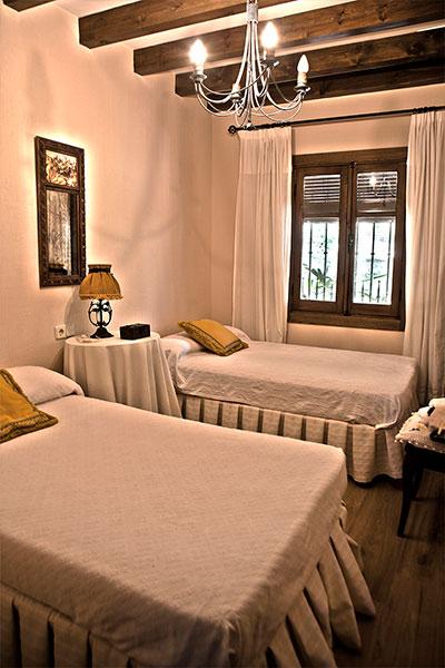Dormitorio doble Casa Rural Las Lagunas de Ruidera